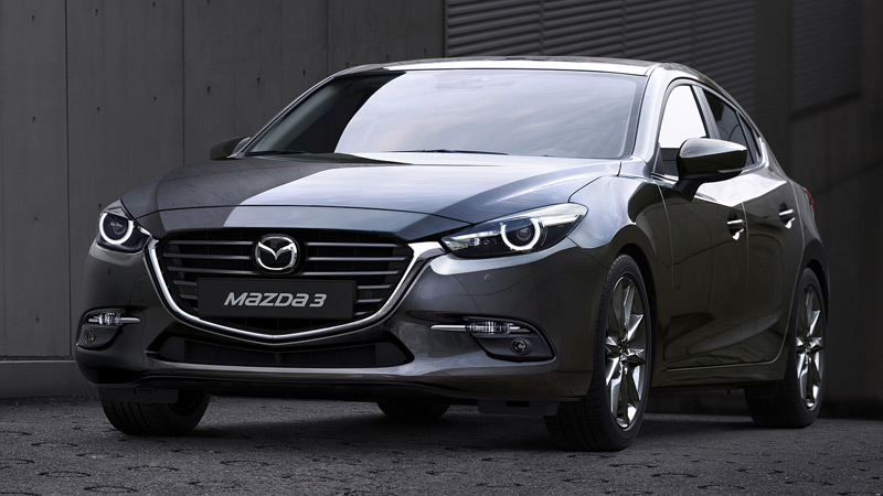 Mazda 3 car for rent