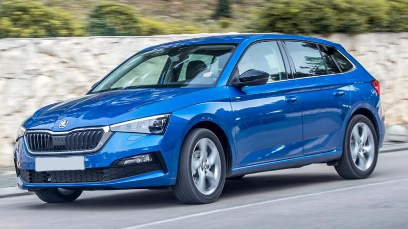 Skoda Scala car for rent